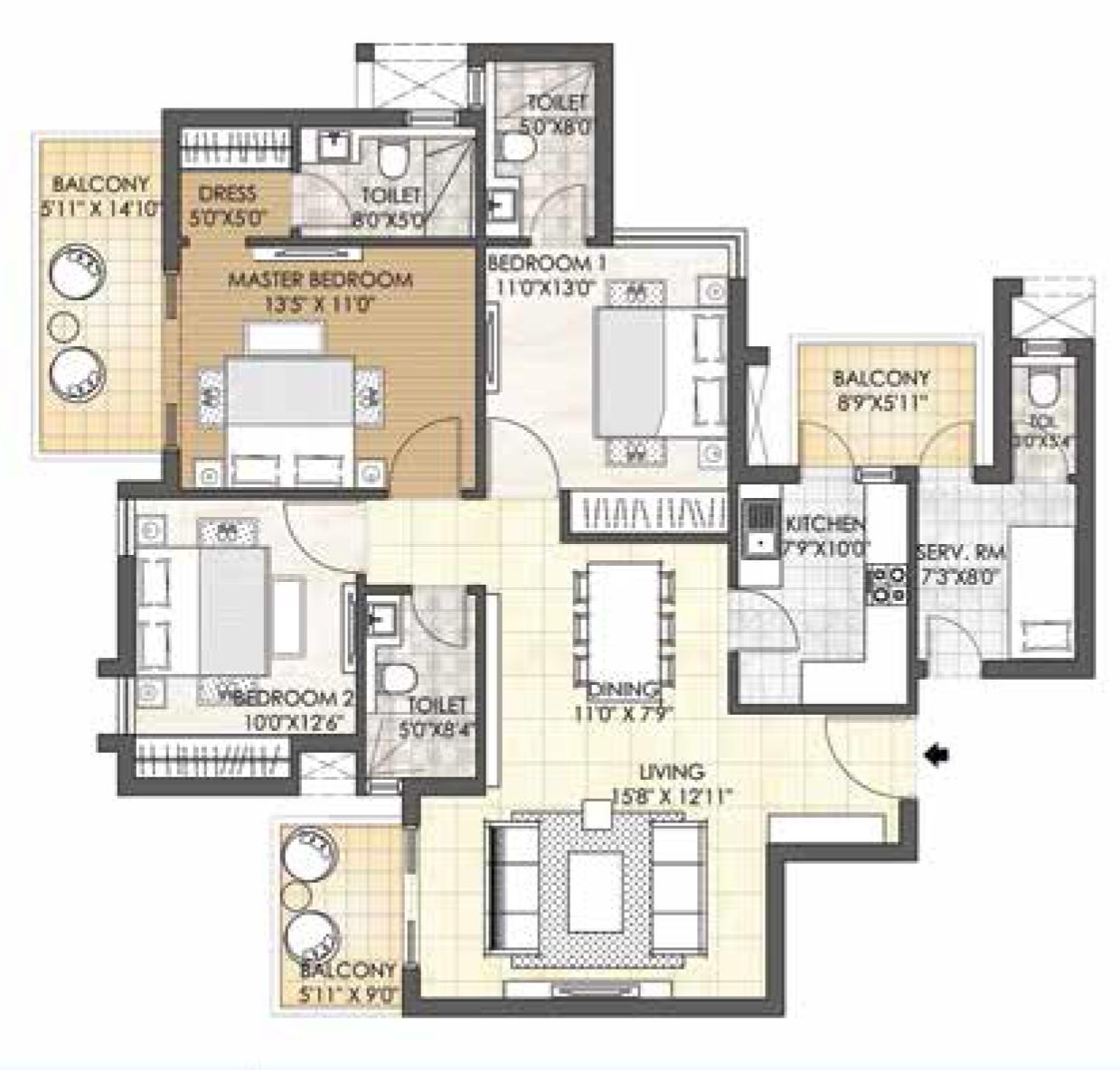 Adani Oyster Grande Buy Luxury Apartment In Sector 102 Gurgaon