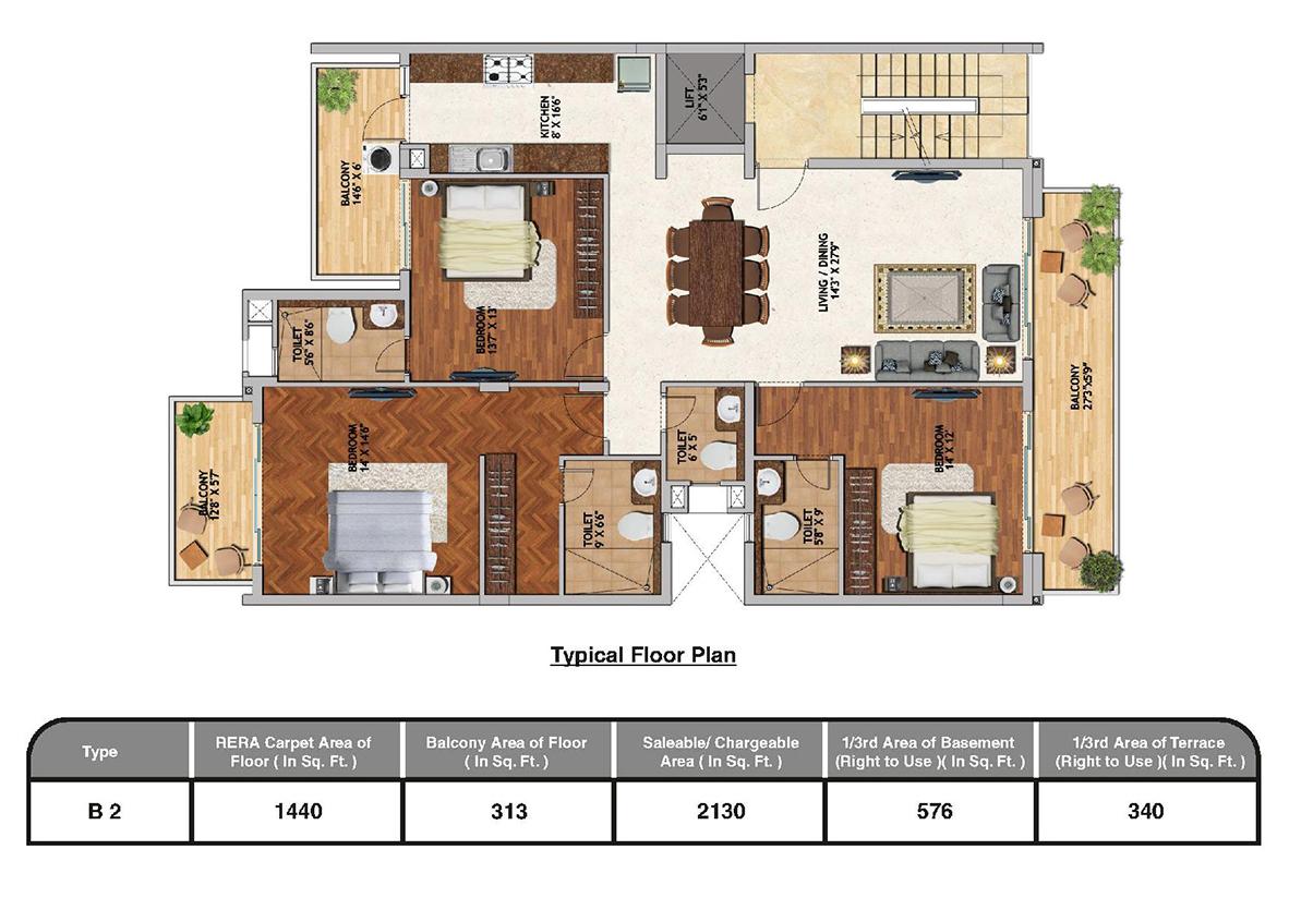 Adani Samsara Sector 60 Gurgaon Brochure Floor Plan Price List